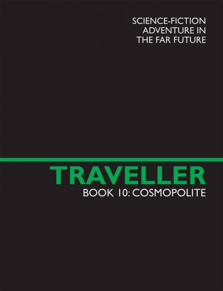 Traveller RPG - Book 10: Cosmopolite