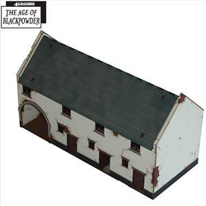 28mm Age of Black Powder: Cow Shed with Archway