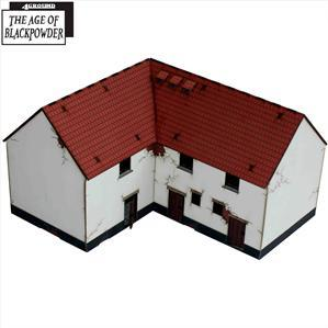 28mm Age of Black Powder: Lofted Corner Stables