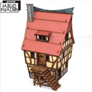28mm Fabled Realms: Mordanburg Highstreet Building 1