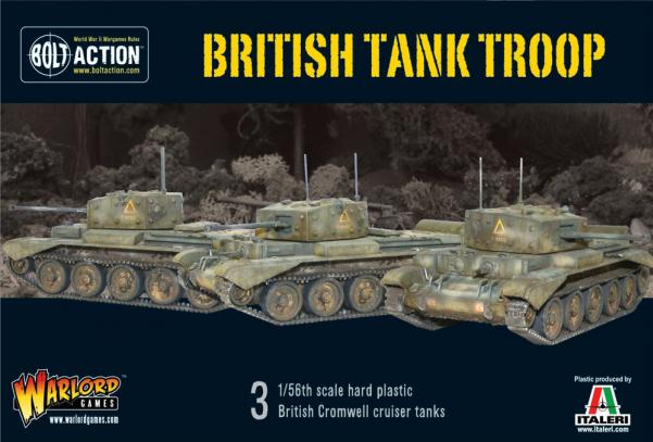 (British) Tank Troop (3 Cromwells)