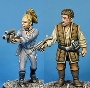 Cult TV Miniatures: Future Freedom Fighters 5 (2)