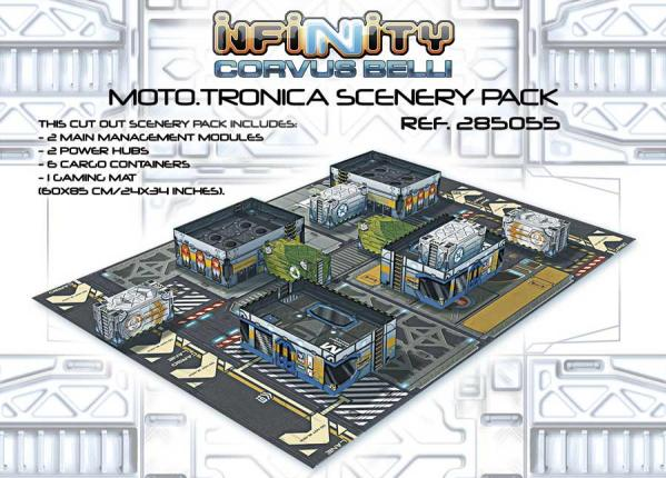 Infinity Accessories: Moto.tronica Scenery Pack