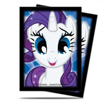 My Little Pony CCG (MLP): Rarity Deck Protectors (65 Sleeves)