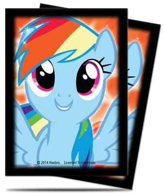 My Little Pony CCG (MLP): Rainbow Dash Deck Protectors (65 Sleeves)