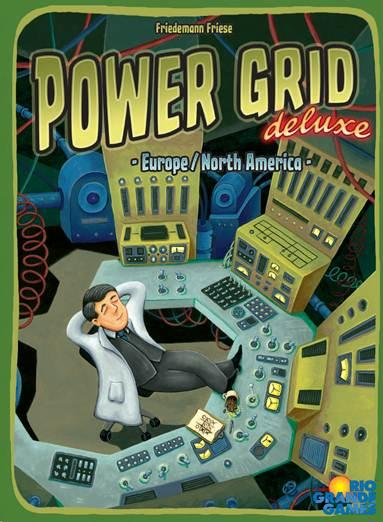 Power Grid: Deluxe Game