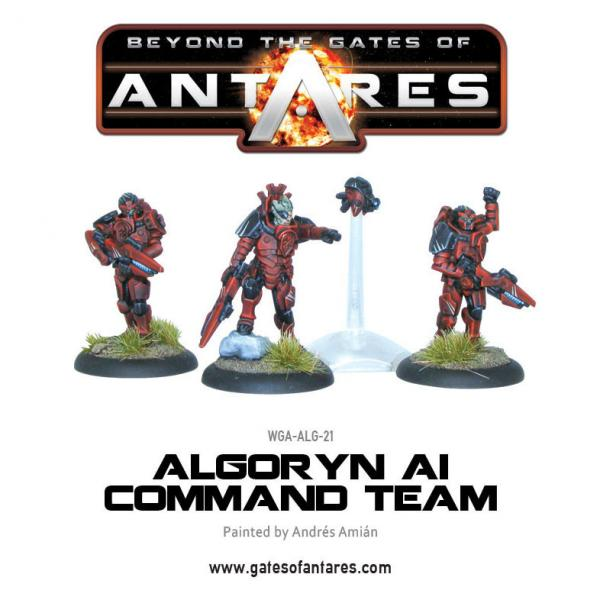 Beyond The Gates Of Antares: (Algoryn) Command Team