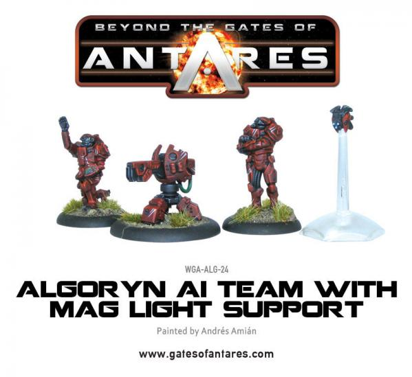 Beyond The Gates Of Antares: (Algoryn) AI Team w/Mag Light Support