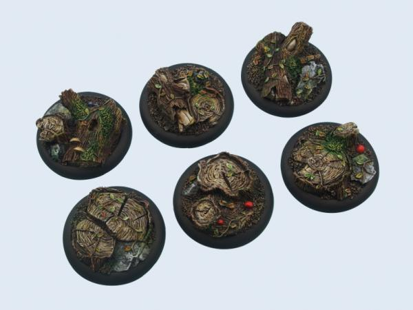 Battle Bases: Forest Bases, Wround 40mm (2)