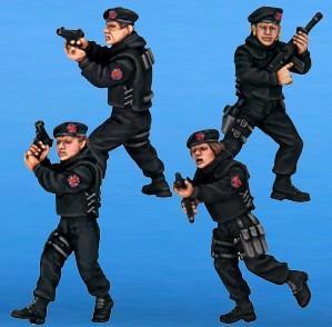 Cult TV Miniatures: X-Commandos 2