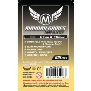 Magnum Space Alert/Dungeon Petz Sleeves: 61mm x 103mm  (100)