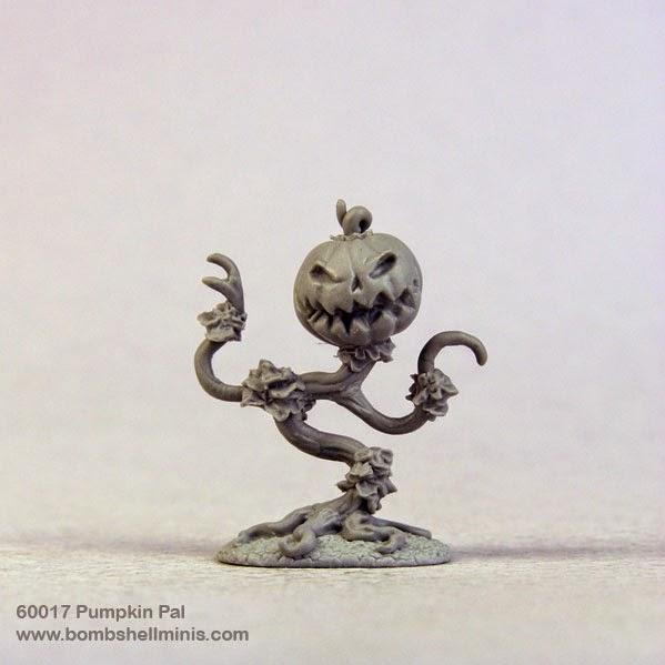 Bombshell Miniatures: Sidekicks - Pumpkin Pal