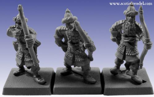 Grendel Metal Figures: Southern Archer Command