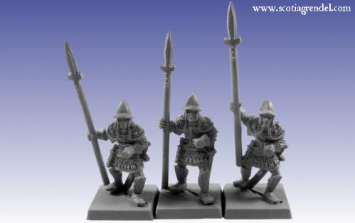 Grendel Metal Figures: Western Spearmen I