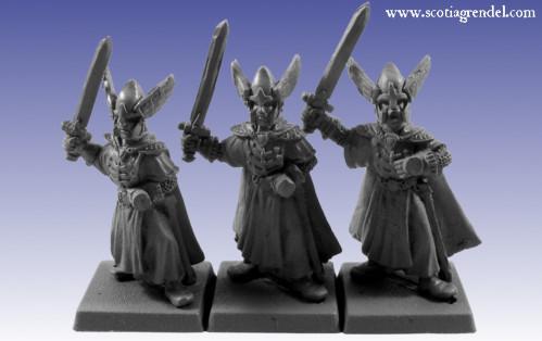 Grendel Metal Figures: Western Swordmen I