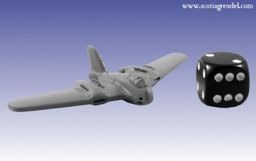 6mm WWII - German: Me-329