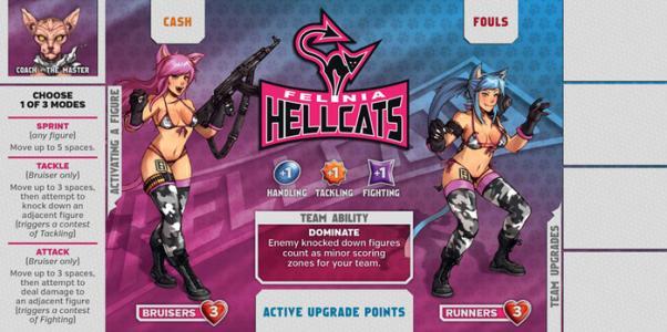 Kaos Ball: Felina Hellcats Expansion