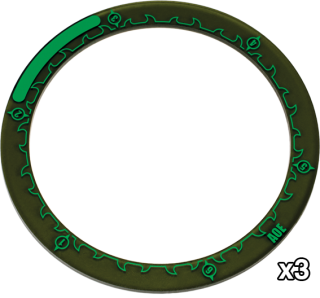 Hordes: 4'' Area of Effect Ring Markers (3)
