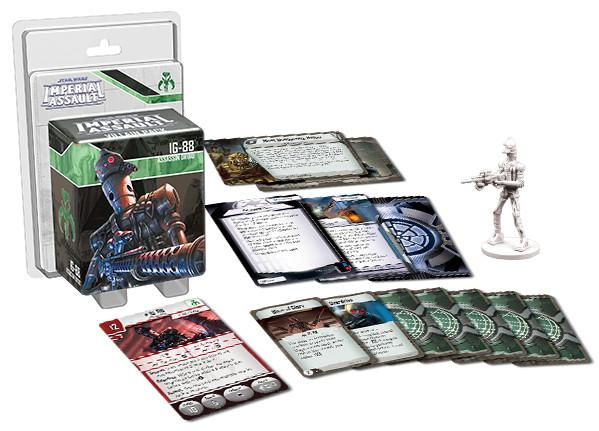 Star Wars: Imperial Assault - IG88 Villain Pack