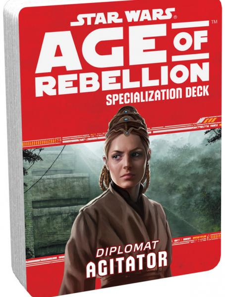 Age of Rebellion RPG: Agitator Specialization Deck