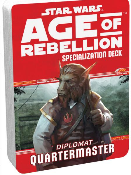 Age of Rebellion RPG: Diplomat Quartermaster Specialization Deck