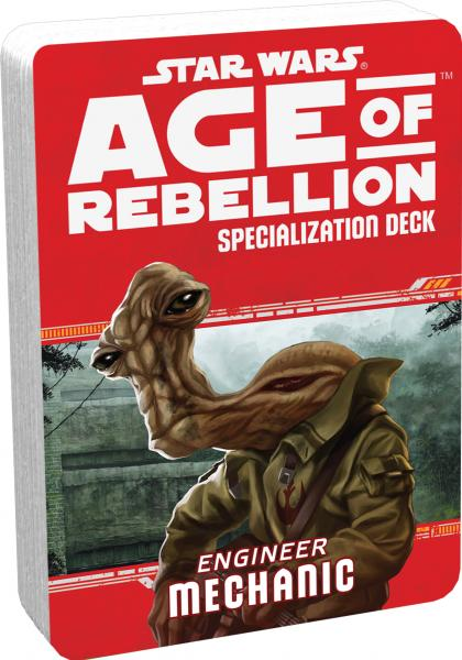 Age of Rebellion RPG: Engineer  Mechanic Specialization Deck