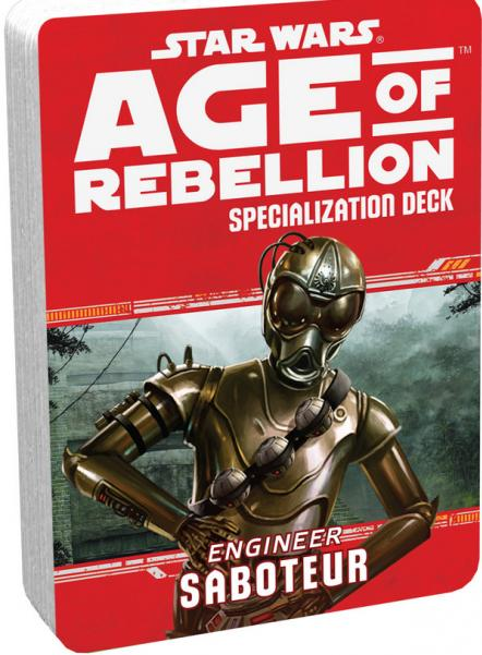 Age of Rebellion RPG: Engineer Saboteur Specialization Deck