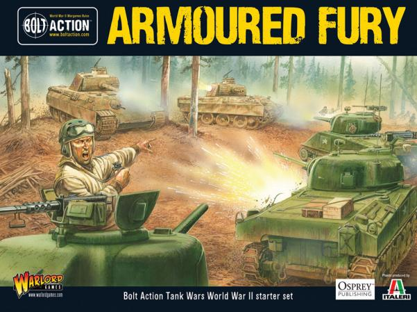 Bolt Action: Armored Fury Two-Player Starter Set
