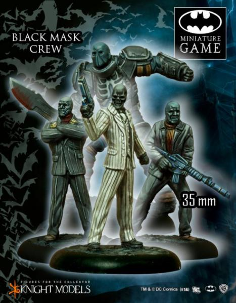 Batman Miniature Game: Black Mask Crew