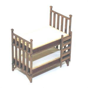 28mm Furniture: Light Wood Bunk Beds
