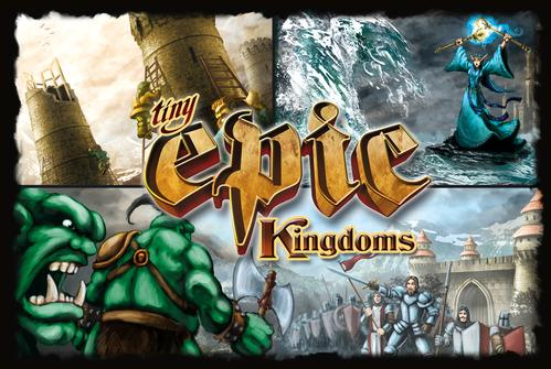 Tiny Epic Kingdoms: Core Game (2nd Edition)