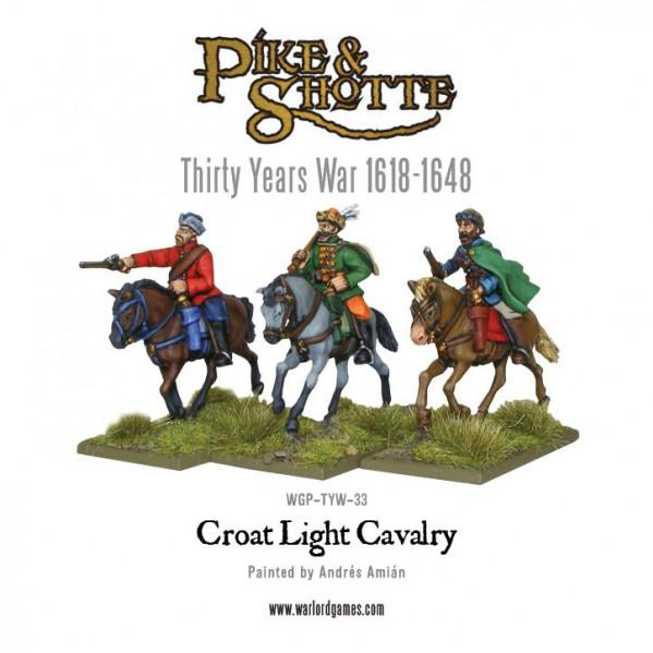 28mm Pike & Shotte: Croat Cavalry [Blister]