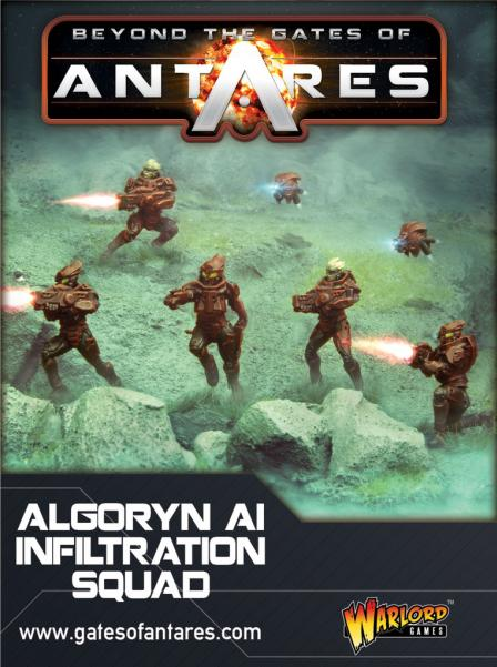 Beyond The Gates Of Antares: (Algoryn) AI Infiltration Team