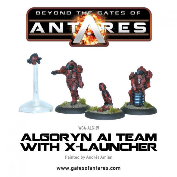 Beyond The Gates Of Antares: (Algoryn) AI Team w/X-Launcher [Blister]