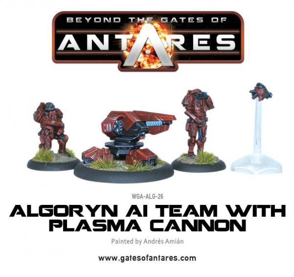 Beyond The Gates Of Antares: (Algoryn) AI Team w/Plasma Cannon [Blister]