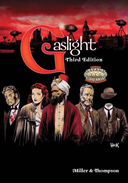 Savage Worlds RPG: Gaslight Victorian Fantasy