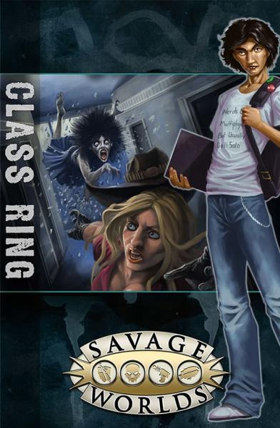 Savage Worlds RPG: East Texas University - GM Screen with Class Ring Adventure