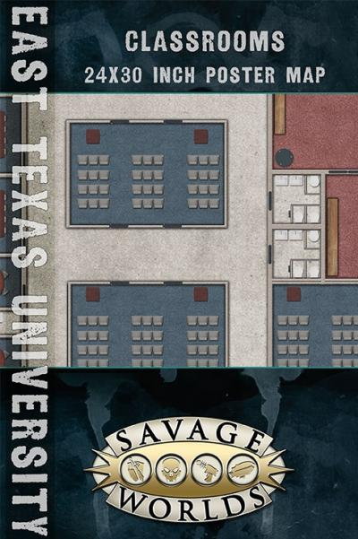 Savage Worlds RPG: East Texas University - Classrooms/Off Campus Housing