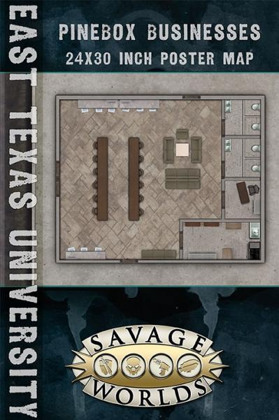 Savage Worlds RPG: East Texas University - Business/Library