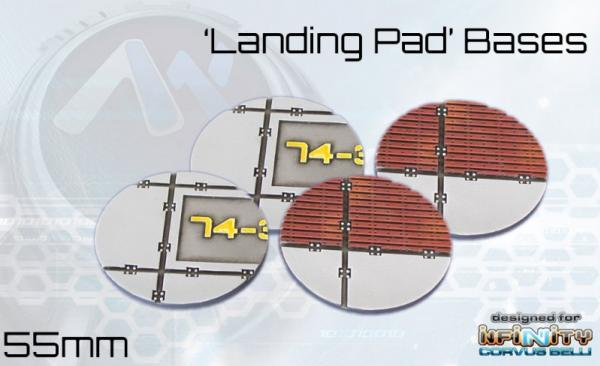 Landing Pad Bases: 55mm (3rd Edition)