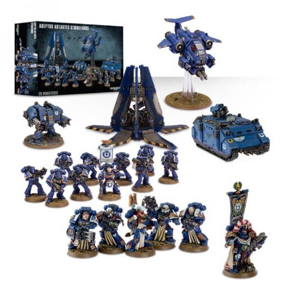 Warhammer 40K: Adeptus Astartes Strikeforce