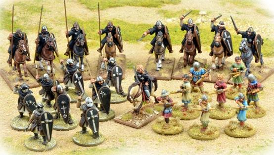 SAGA: The Crescent & The Cross: (Milites Christi) Warband Starter