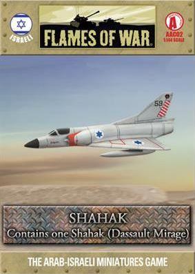 Flames Of War (Arab/Israeli War): (Israeli) Shahak (Mirage III CJ)