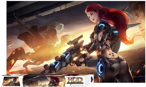 Gaming Accessories: Cyborg Uprising Play Mat