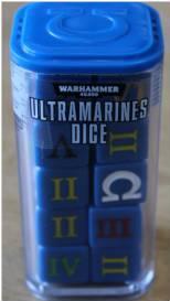 Warhammer 40K: ULTRAMARINES DICE