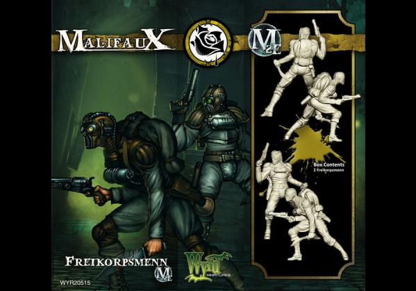 Malifaux: (The Outcasts) Freikorpsmenn (2)