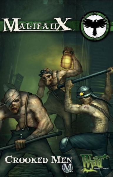 Malifaux: (The Resurrectionists) Crooked Men (3)