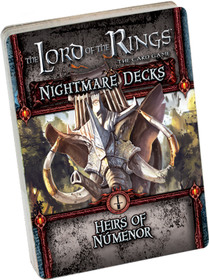 Lord of the Rings LCG: Heirs of Nemenor Nightmare Expansion