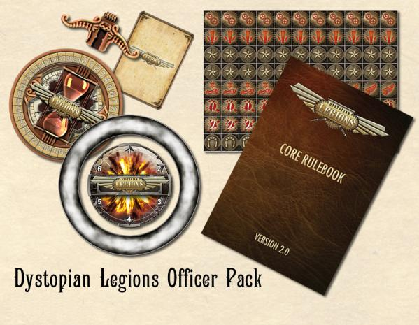 Dystopian Legions: Officer Pack