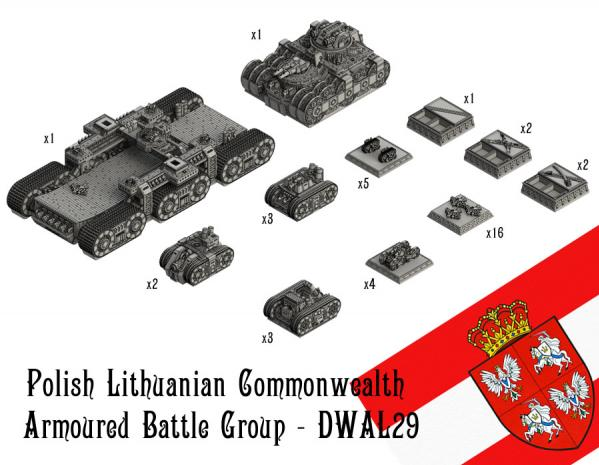 (Alliance Nations) Polish-Lithuanian Commonwealth Armored Battle Group